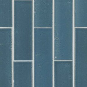 Red Rock tile Blue glazed brick