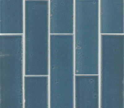 Red Rock tile Blue glazed brick