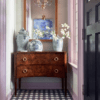 MIRTH GINGHAM TILE IN ENTRY WAY