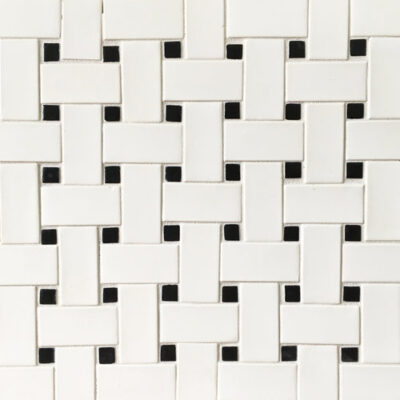 bread and butter basket weave tile