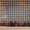 crossville tile cursive collection installed on backsplash