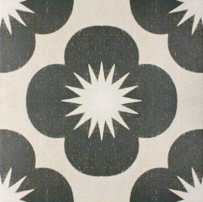MIRTH INKY BUD PORCELAIN COLLECTION SINGLE TILE